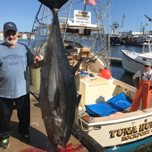 Giant Bluefin on Tuna Hunter