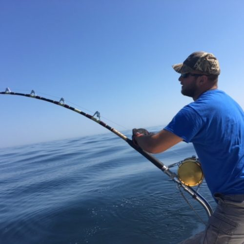 Bluefin Battle Underway on Tuna Hunter