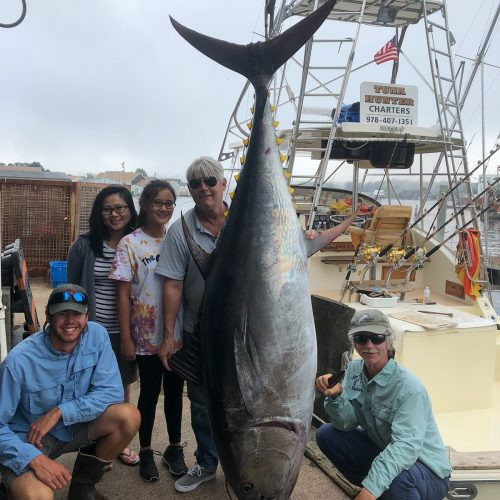 Giant Bluefin on Tuna Hunter Fishing Charters