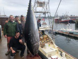 Giant Bluefin Tuna Charter on Tuna Hunter