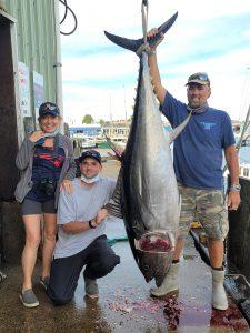 Family Bluefin Tuna on Tuna Hunter